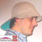 Gorros para niños y adultos con vicera frontal y posterior (Paracas) con Protección UV